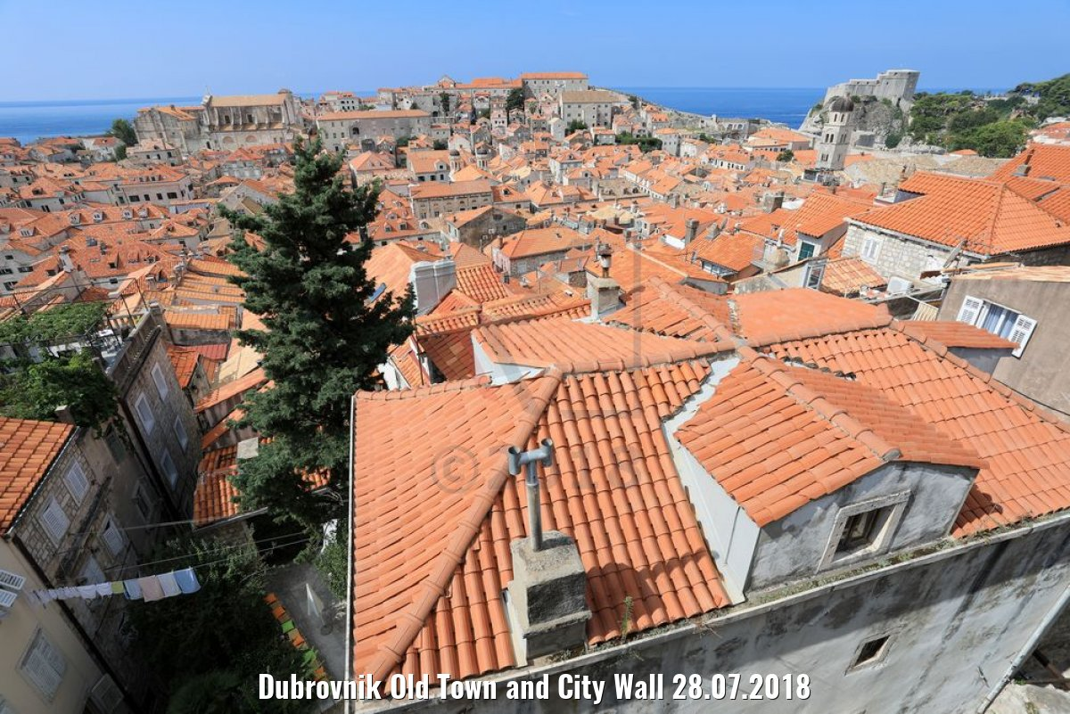 Dubrovnik Old Town and City Wall 28.07.2018