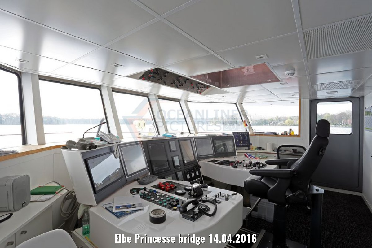 Elbe Princesse bridge 14.04.2016