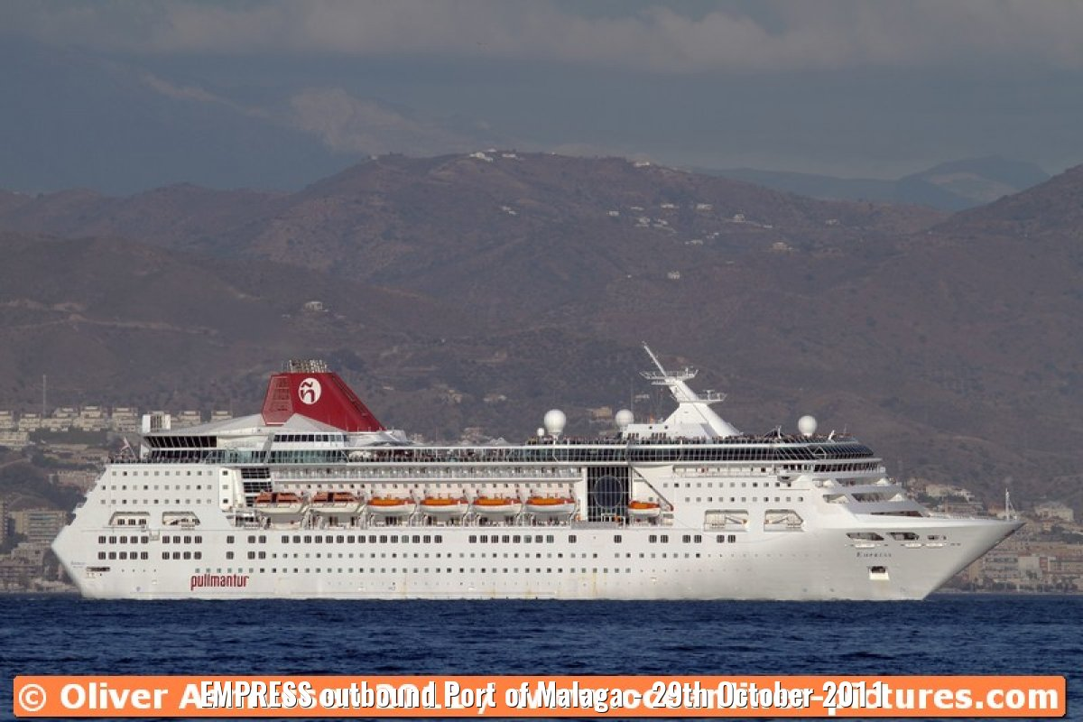 EMPRESS outbound Port of Malaga - 29th October 2011