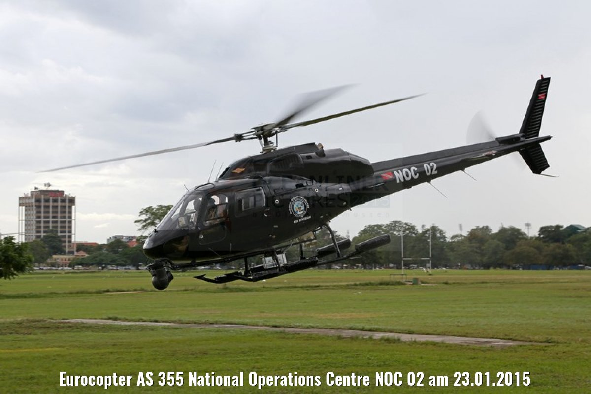 Eurocopter AS 355 National Operations Centre NOC 02 am 23.01.2015