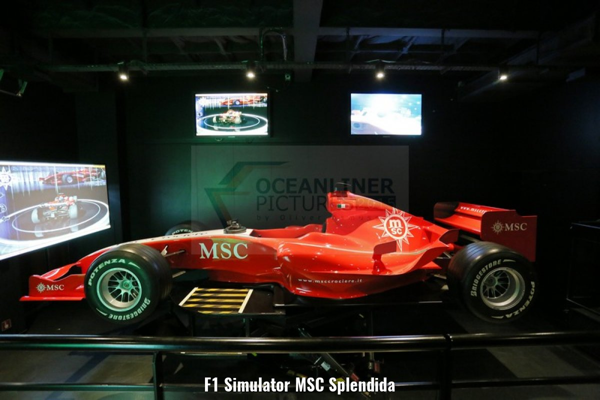 F1 Simulator MSC Splendida