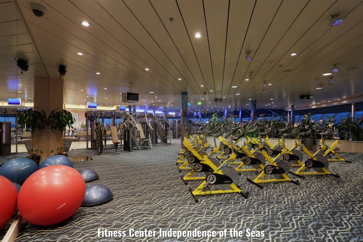 Fitness Center Independence of the Seas