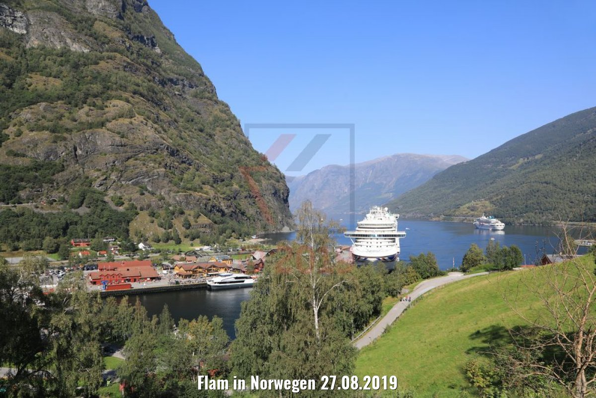 Flam in Norwegen 27.08.2019