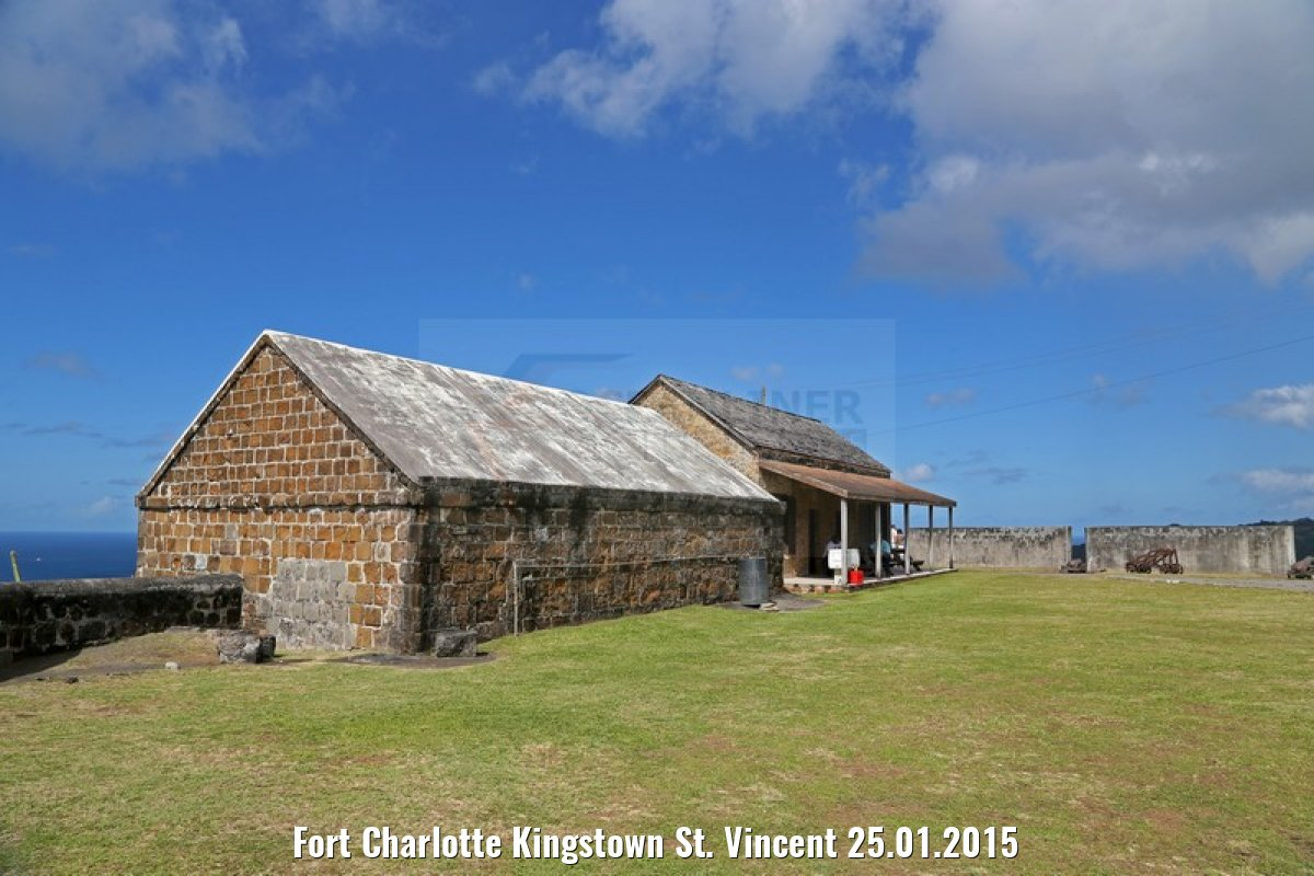 Fort Charlotte Kingstown St. Vincent 25.01.2015