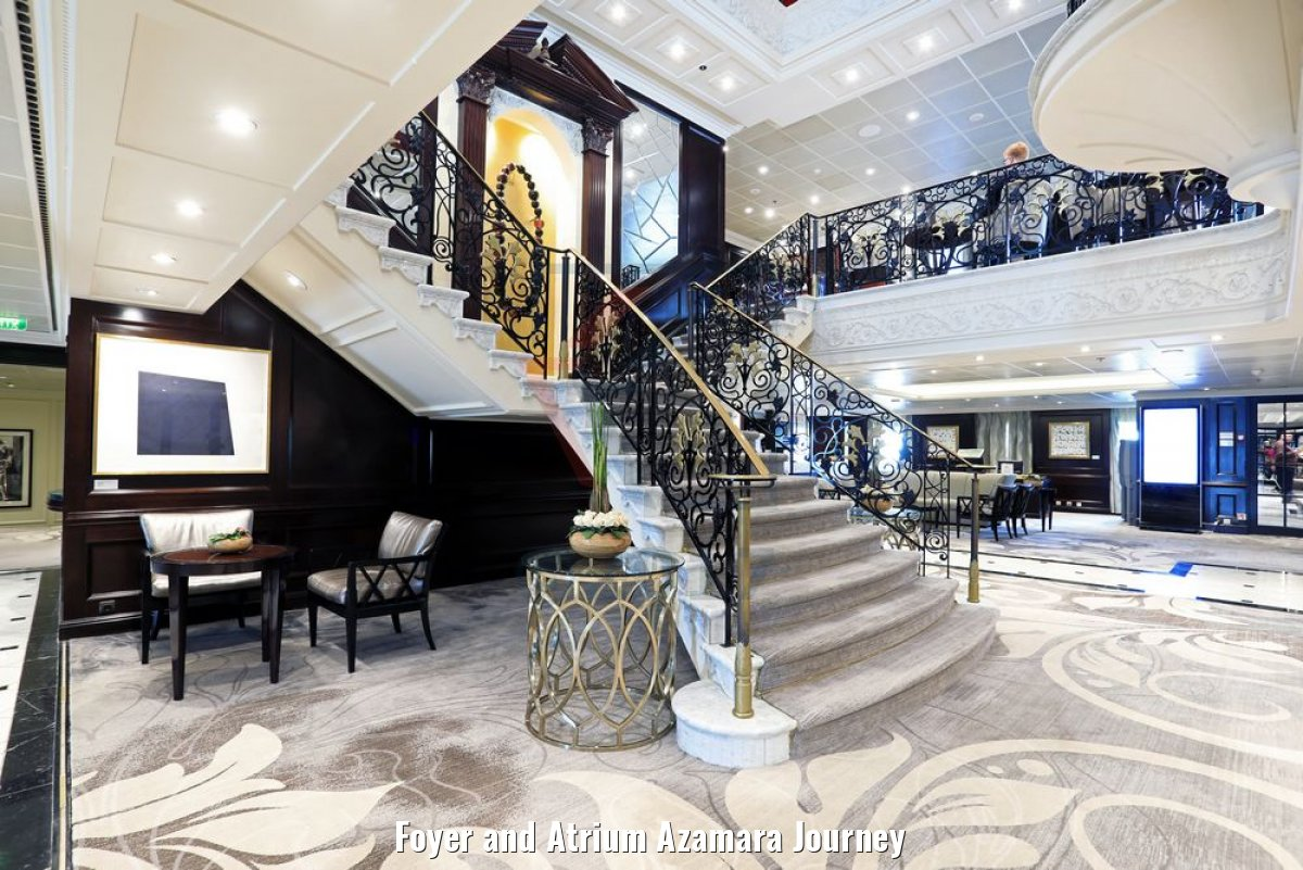 Foyer and Atrium Azamara Journey