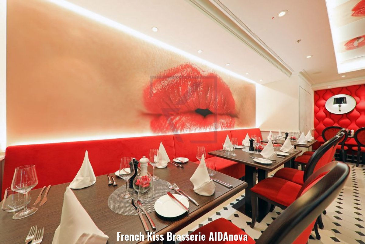 French Kiss Brasserie AIDAnova