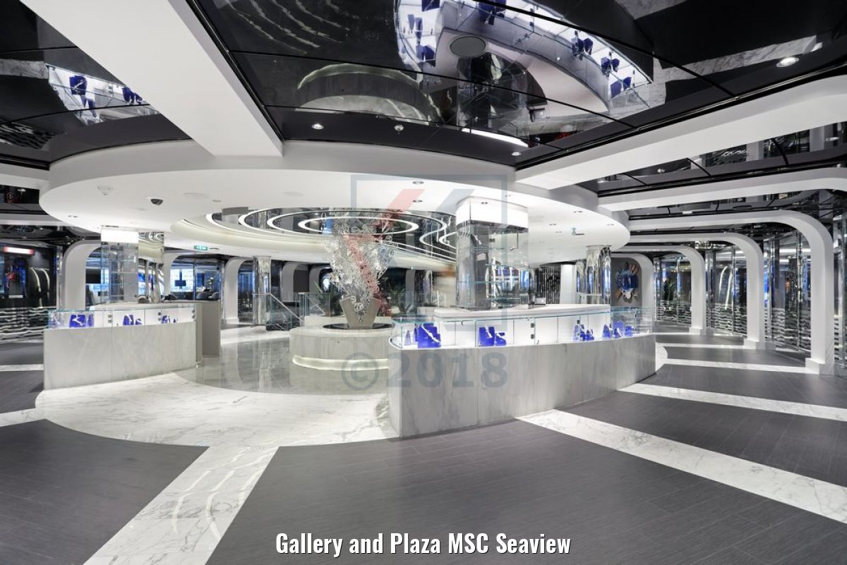 Gallery and Plaza MSC Seaview