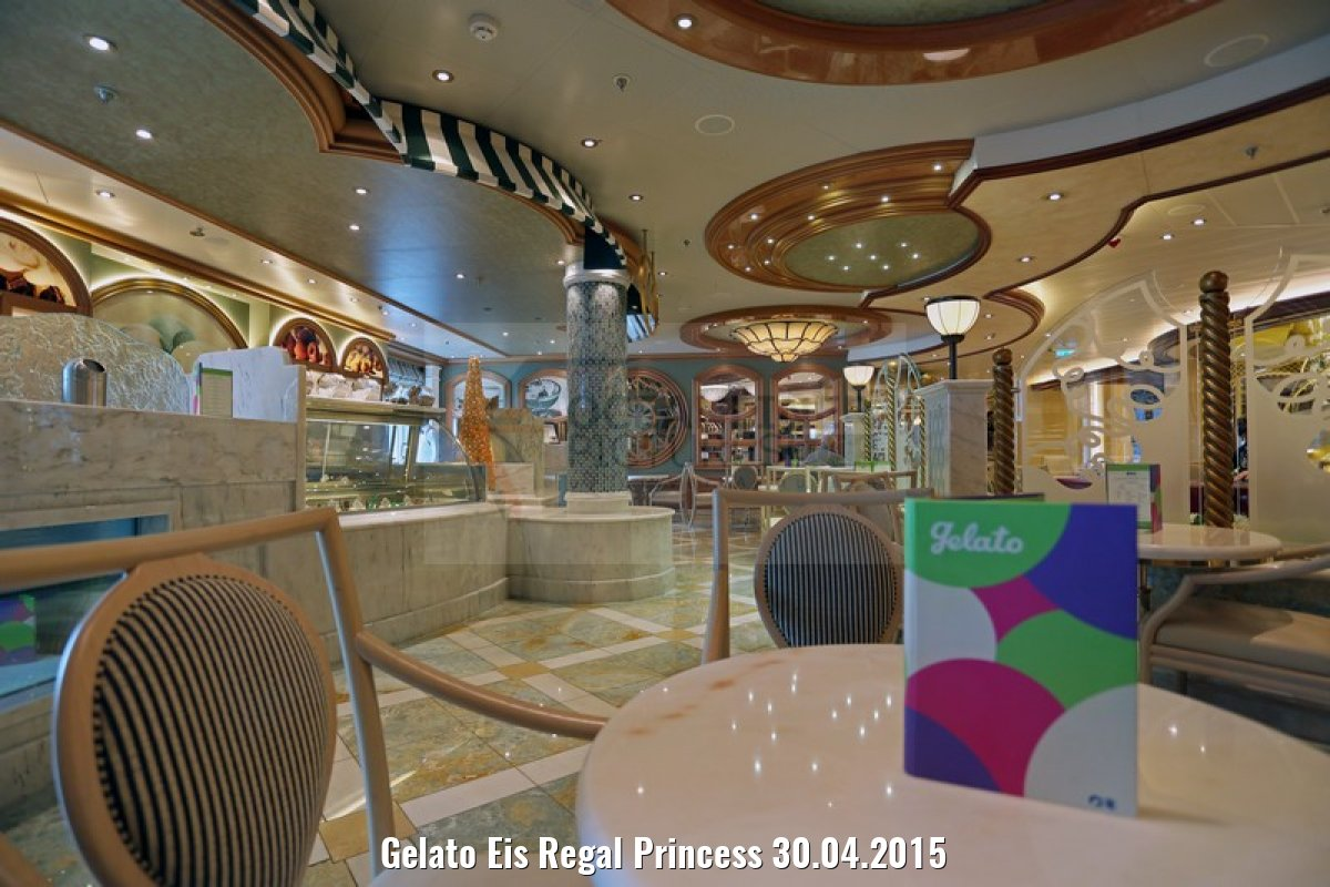 Gelato Eis Regal Princess 30.04.2015