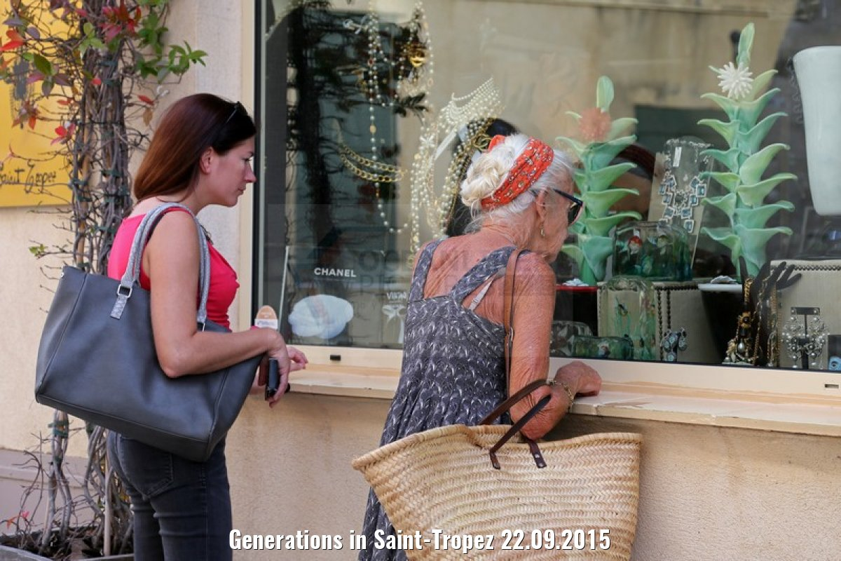 Generations in Saint-Tropez 22.09.2015