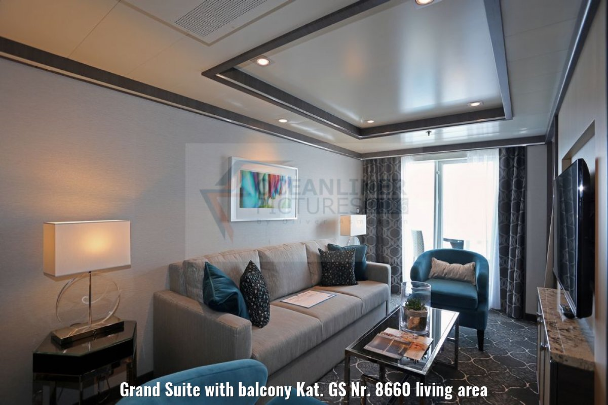 Grand Suite with balcony Kat. GS Nr. 8660 living area