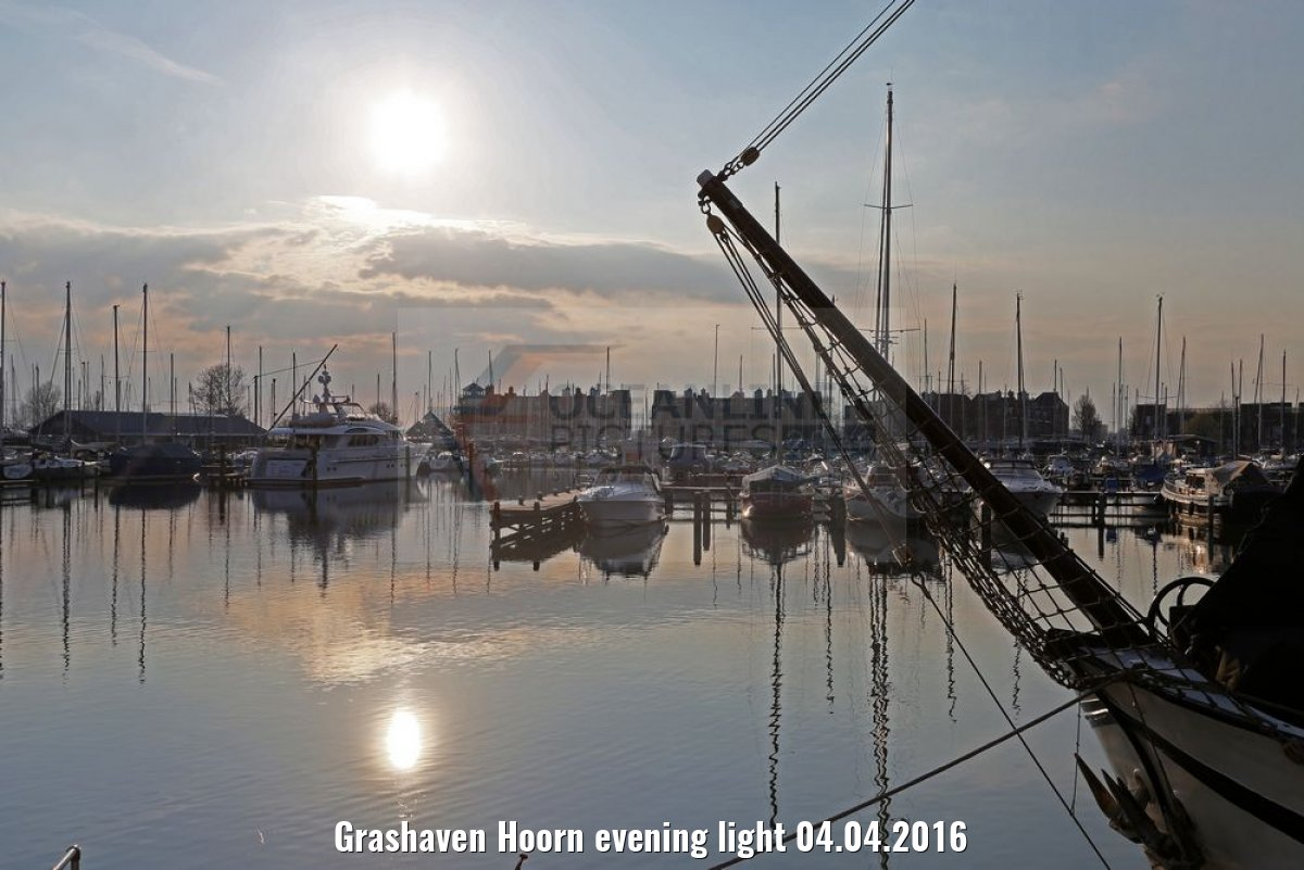 Grashaven Hoorn evening light 04.04.2016