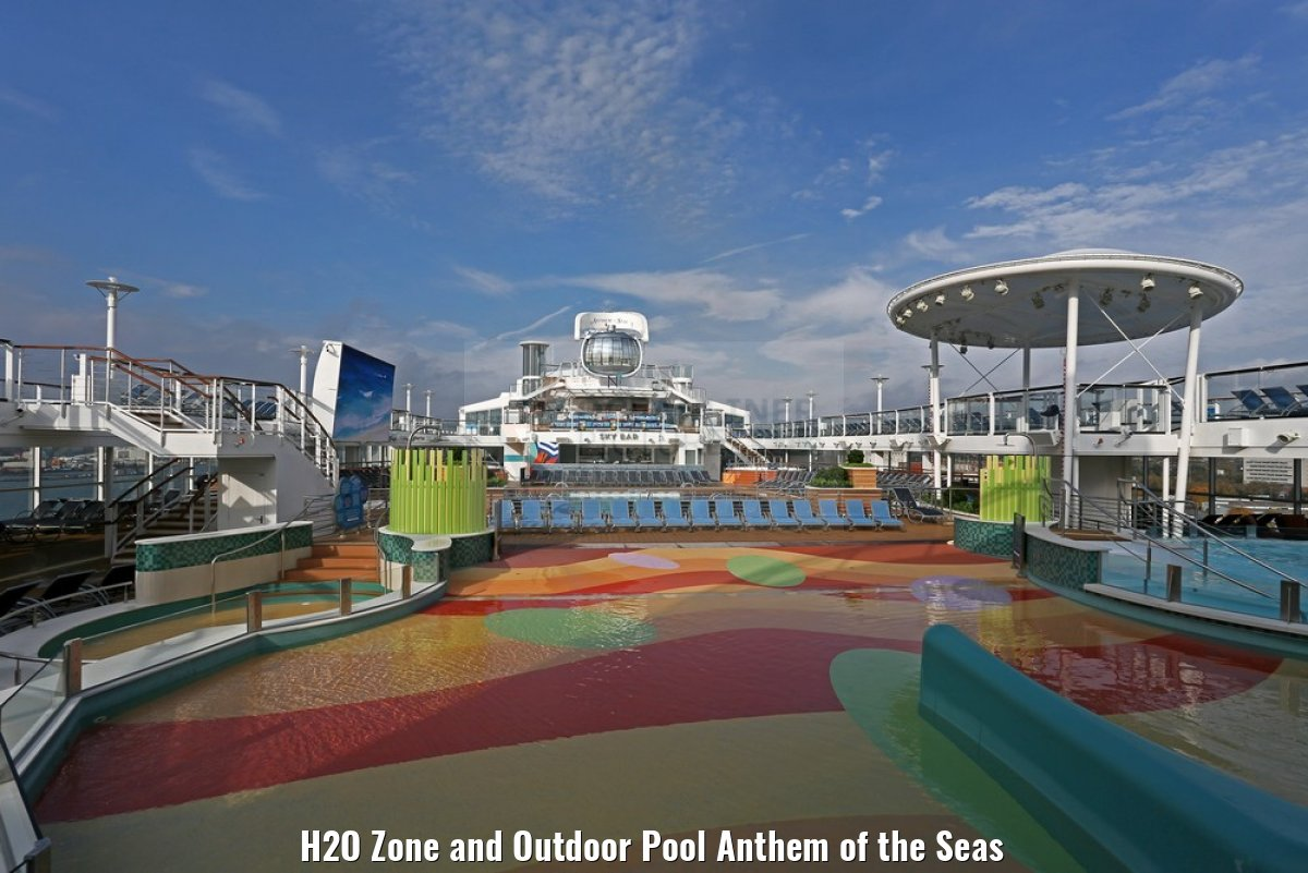 H2O Zone and Outdoor Pool Anthem of the Seas