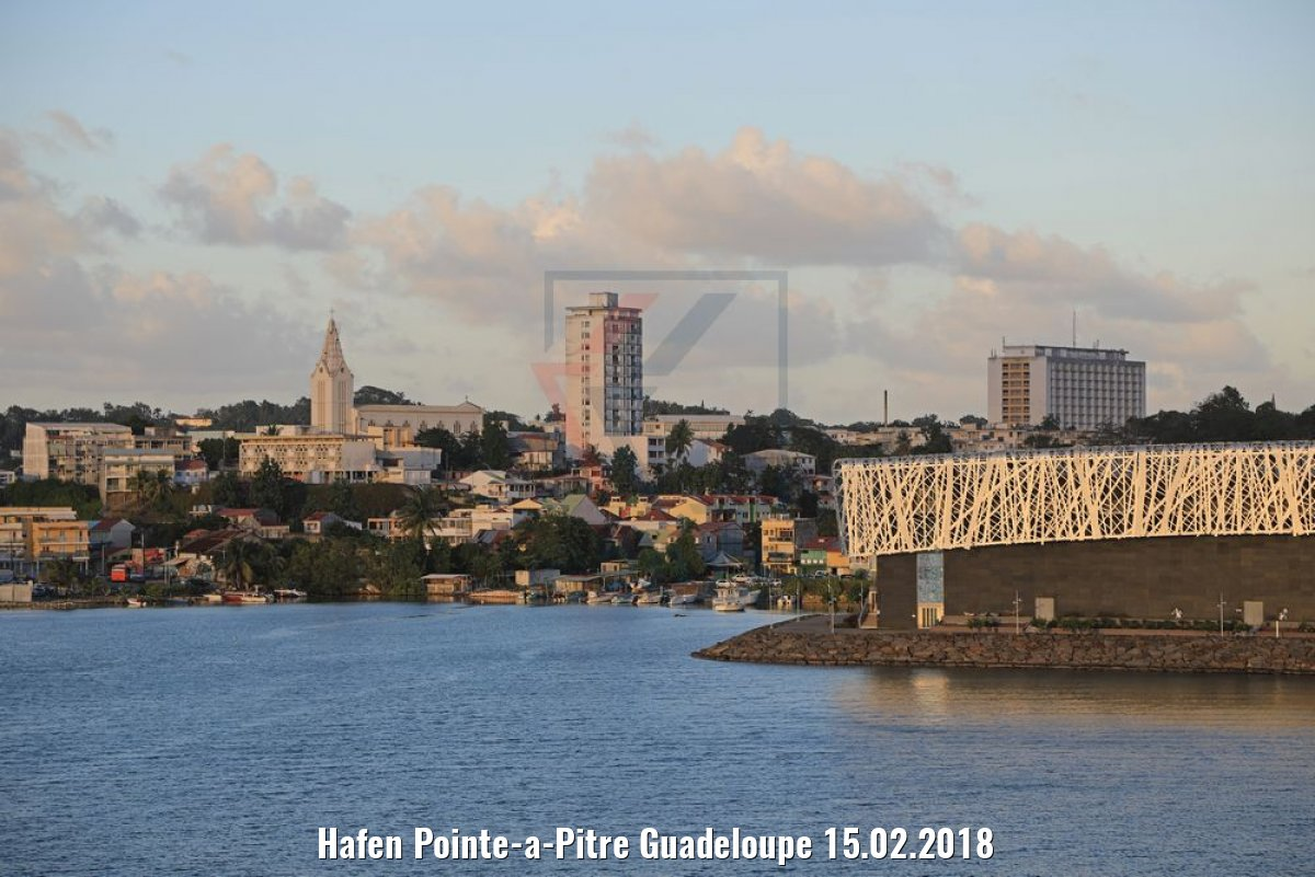 Hafen Pointe-a-Pitre Guadeloupe 15.02.2018
