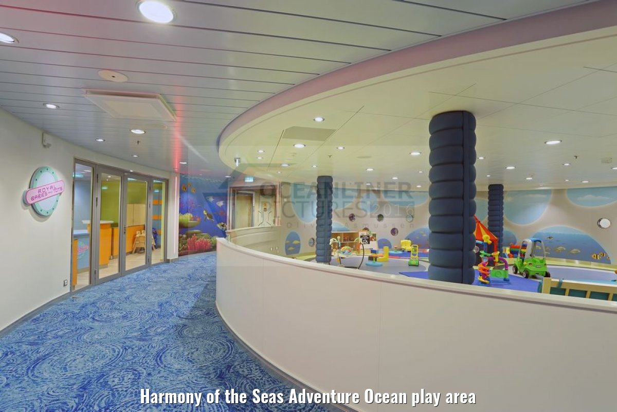Harmony of the Seas Adventure Ocean play area