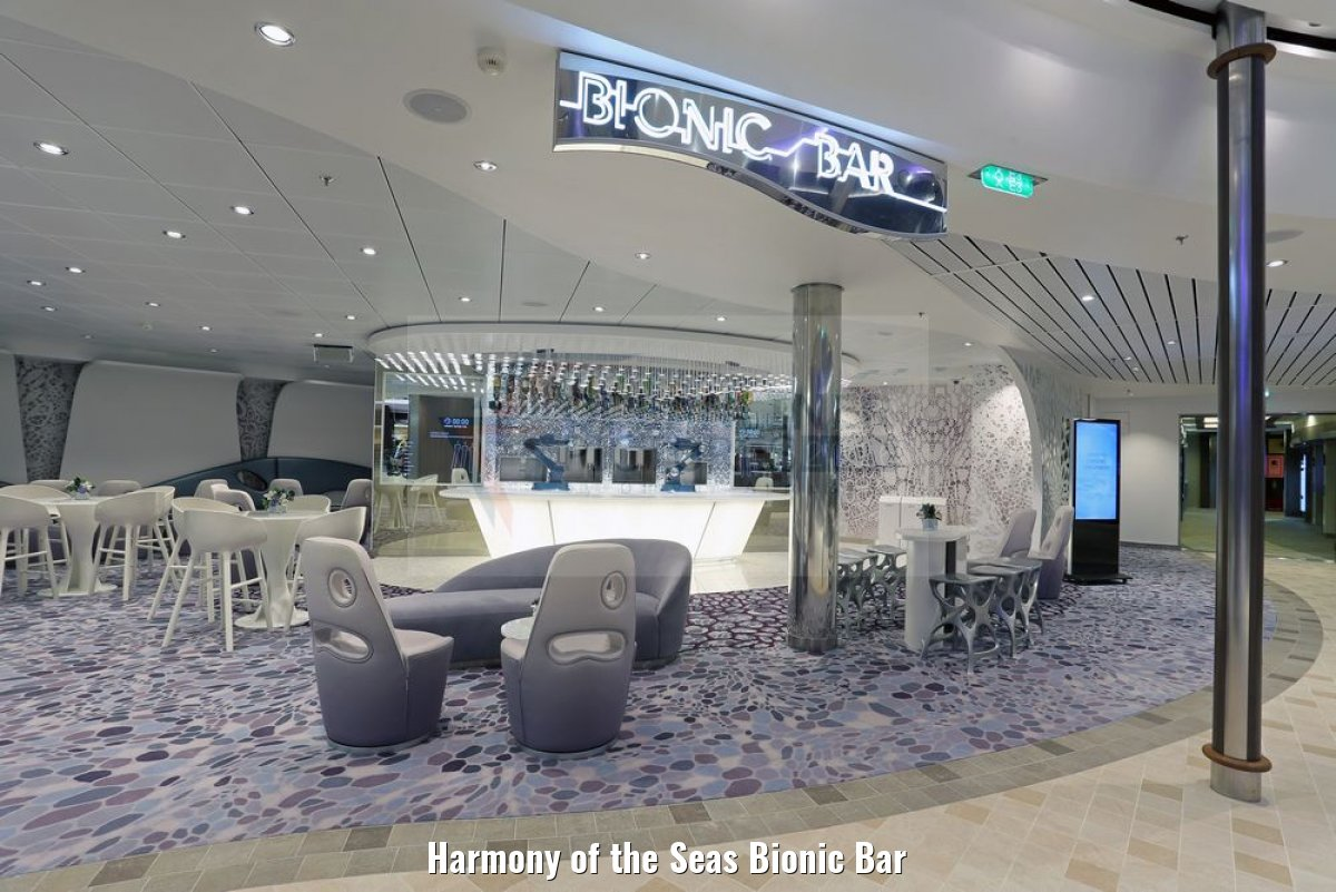 Harmony of the Seas Bionic Bar