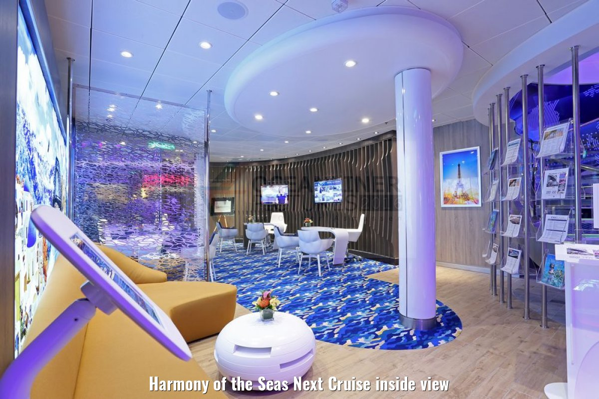 Harmony of the Seas Next Cruise inside view