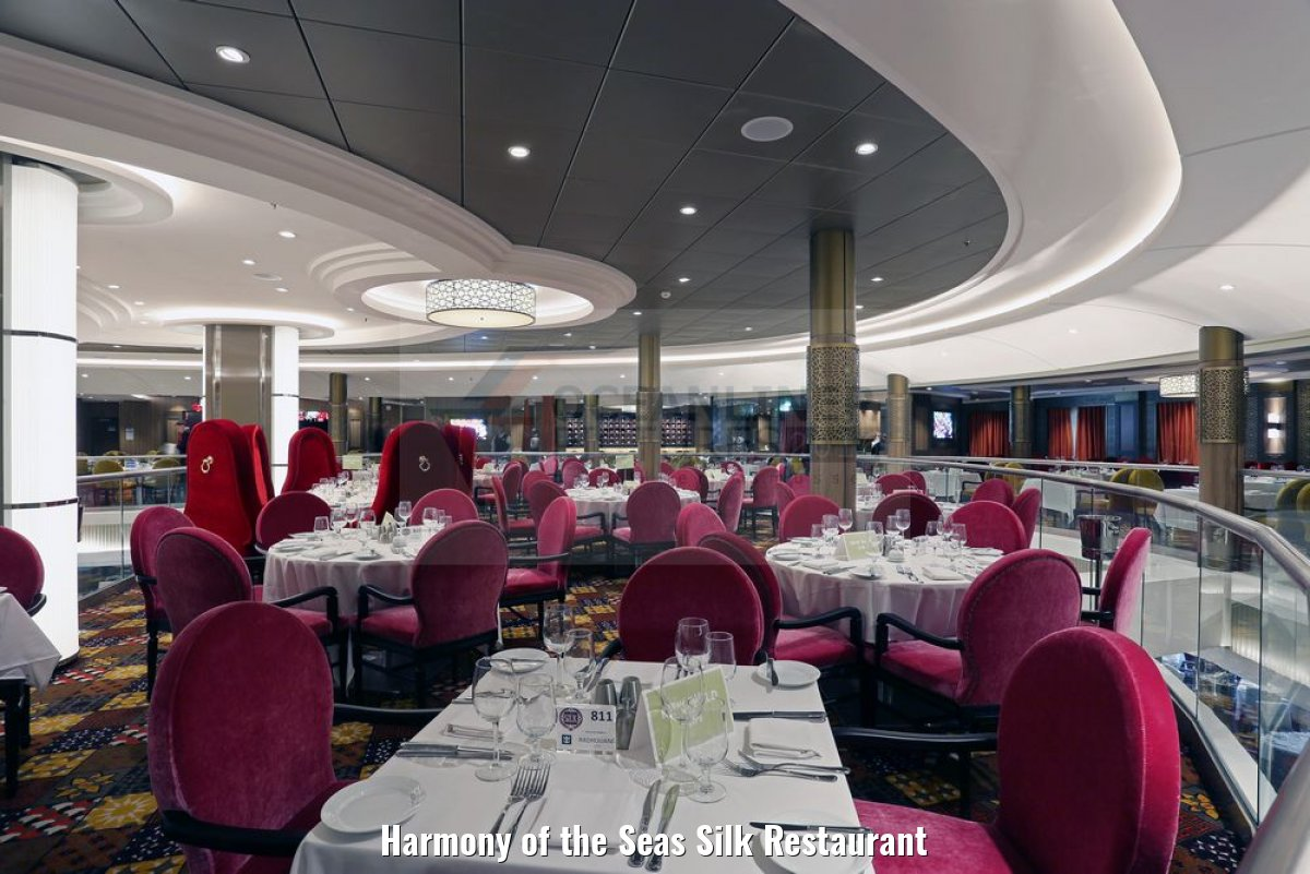 Harmony of the Seas Silk Restaurant
