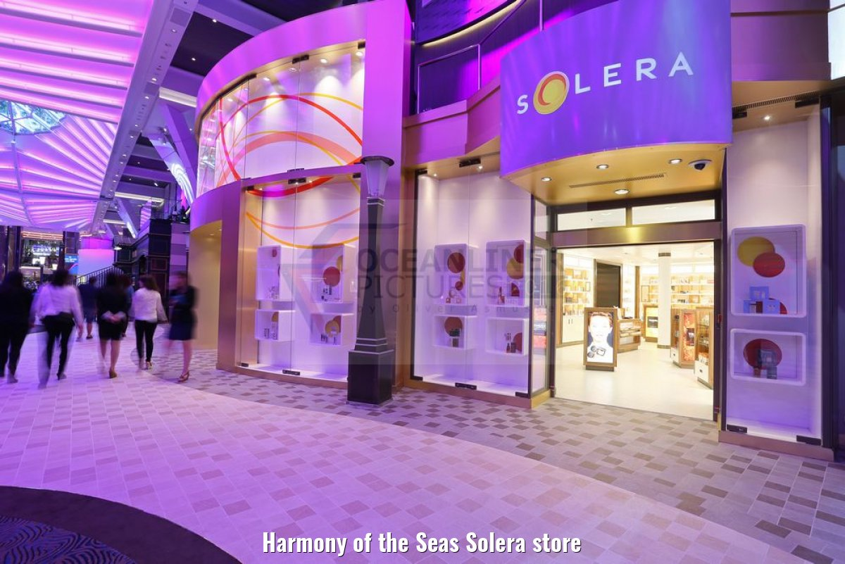 Harmony of the Seas Solera store