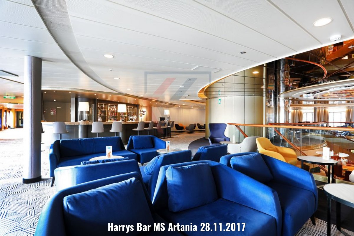 Harrys Bar MS Artania 28.11.2017