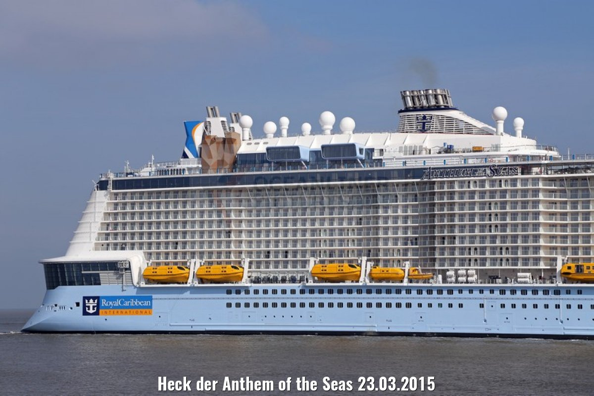 Heck der Anthem of the Seas 23.03.2015
