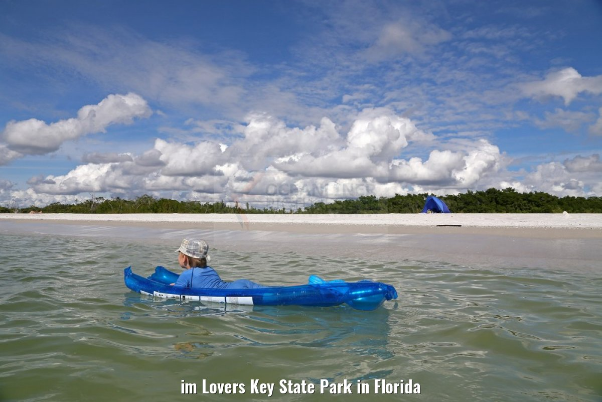 im Lovers Key State Park in Florida