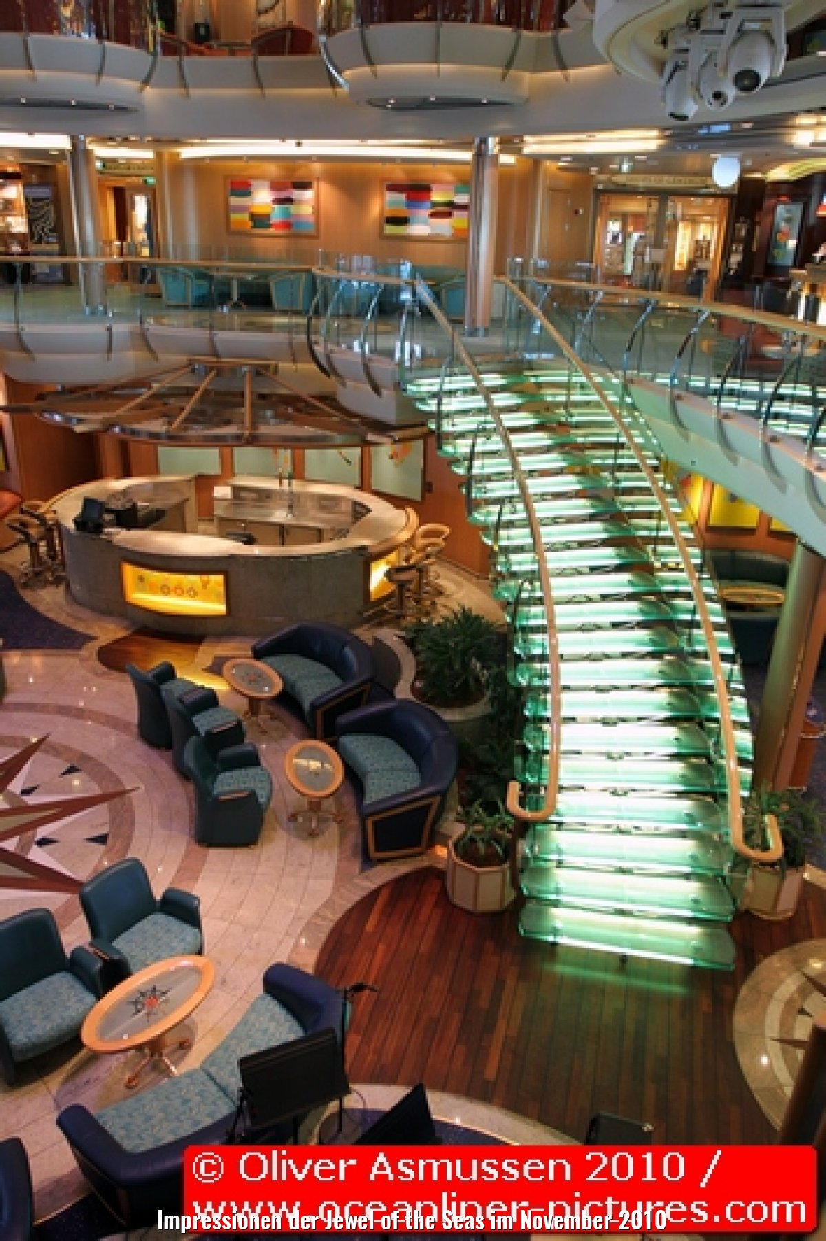 Impressionen der Jewel of the Seas im November 2010