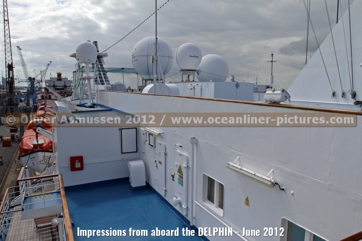 Impressions from aboard the DELPHIN - June 2012