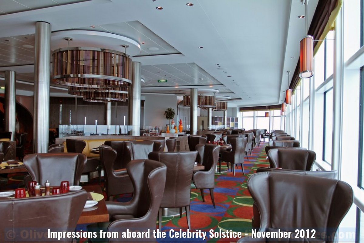 Impressions from aboard the Celebrity Solstice - November 2012