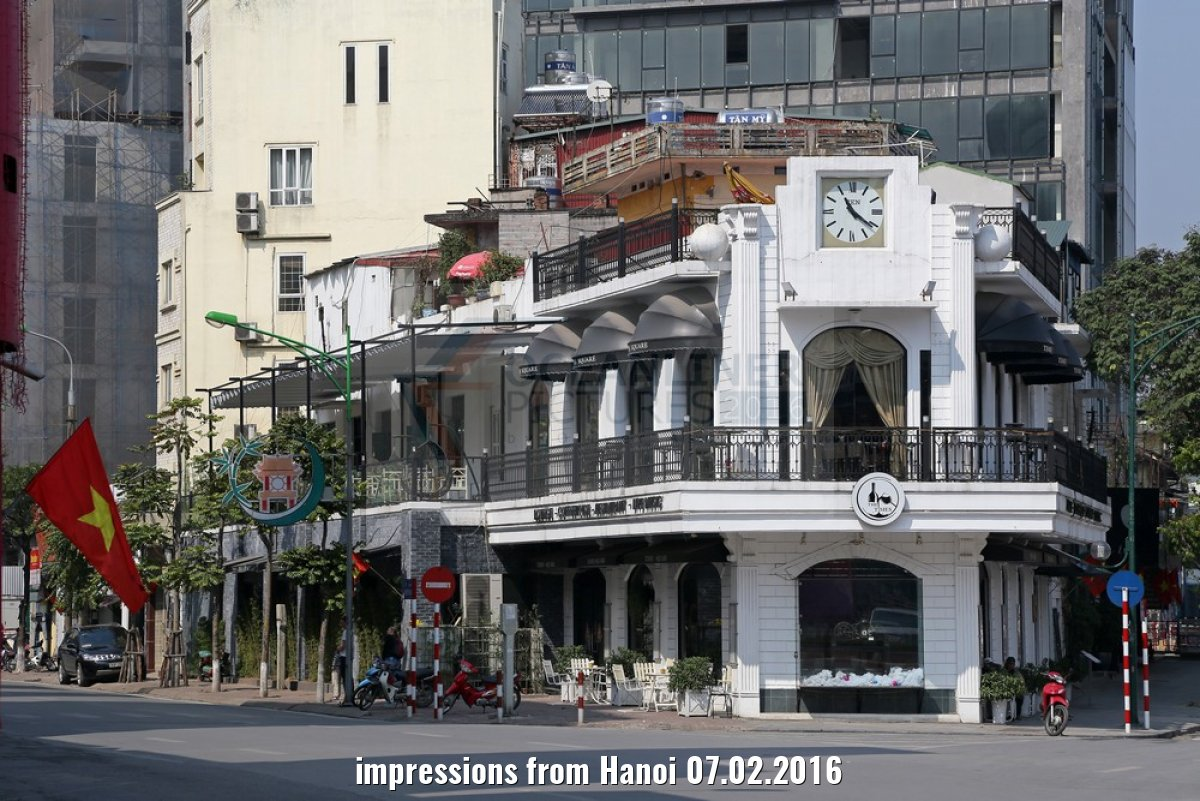 impressions from Hanoi 07.02.2016