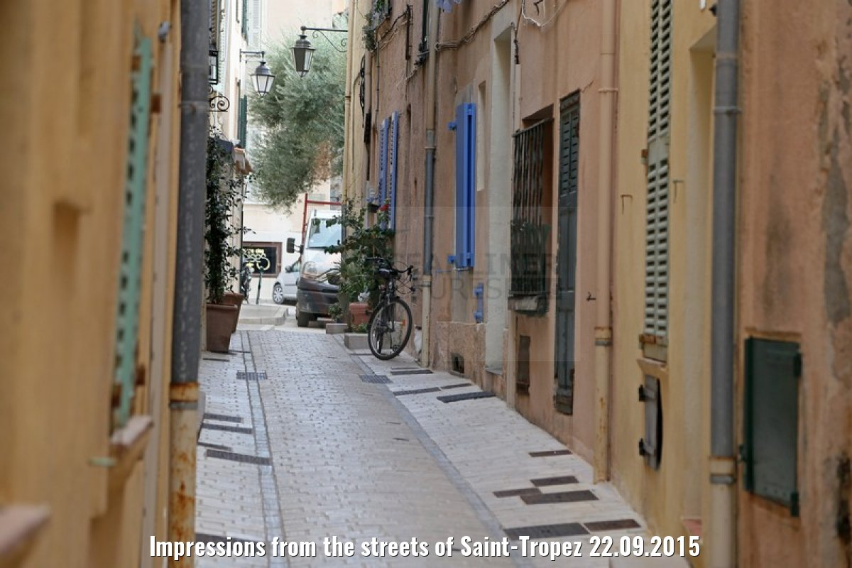 Impressions from the streets of Saint-Tropez 22.09.2015