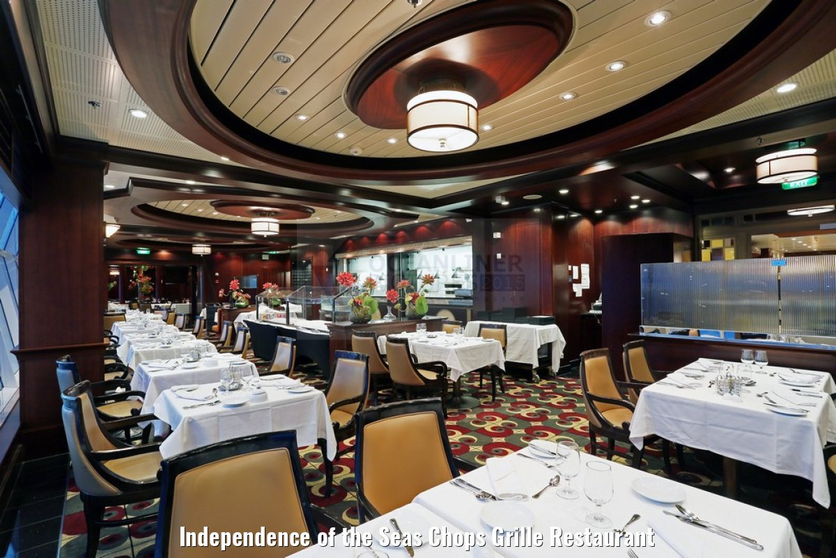 Independence of the Seas Chops Grille Restaurant