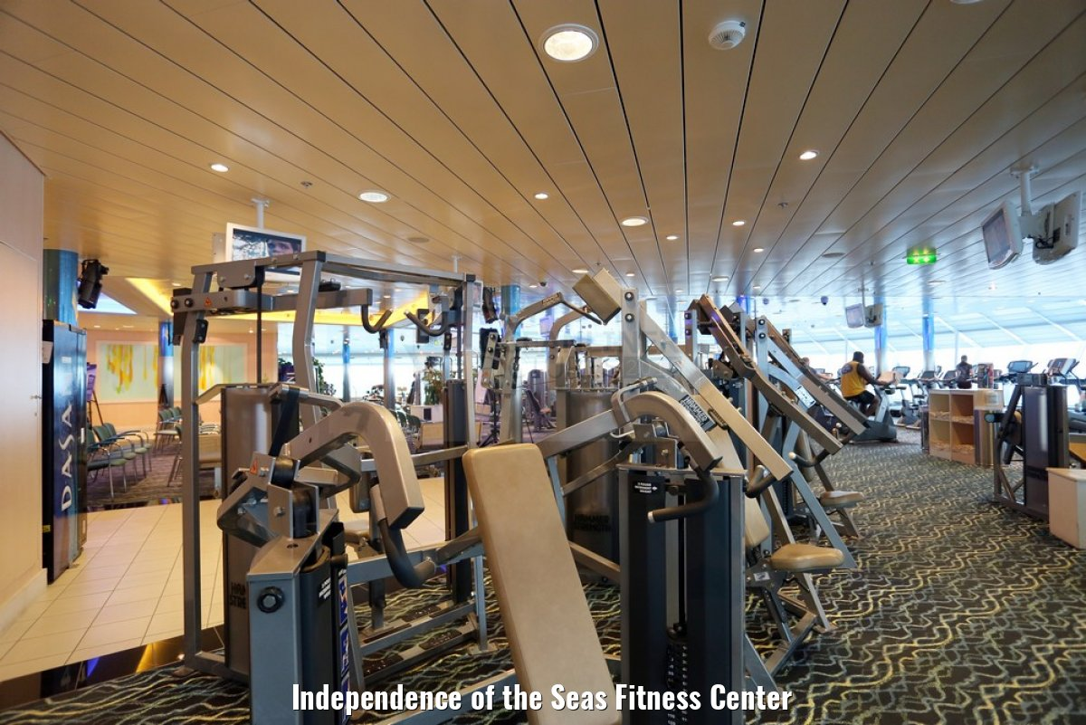 Independence of the Seas Fitness Center