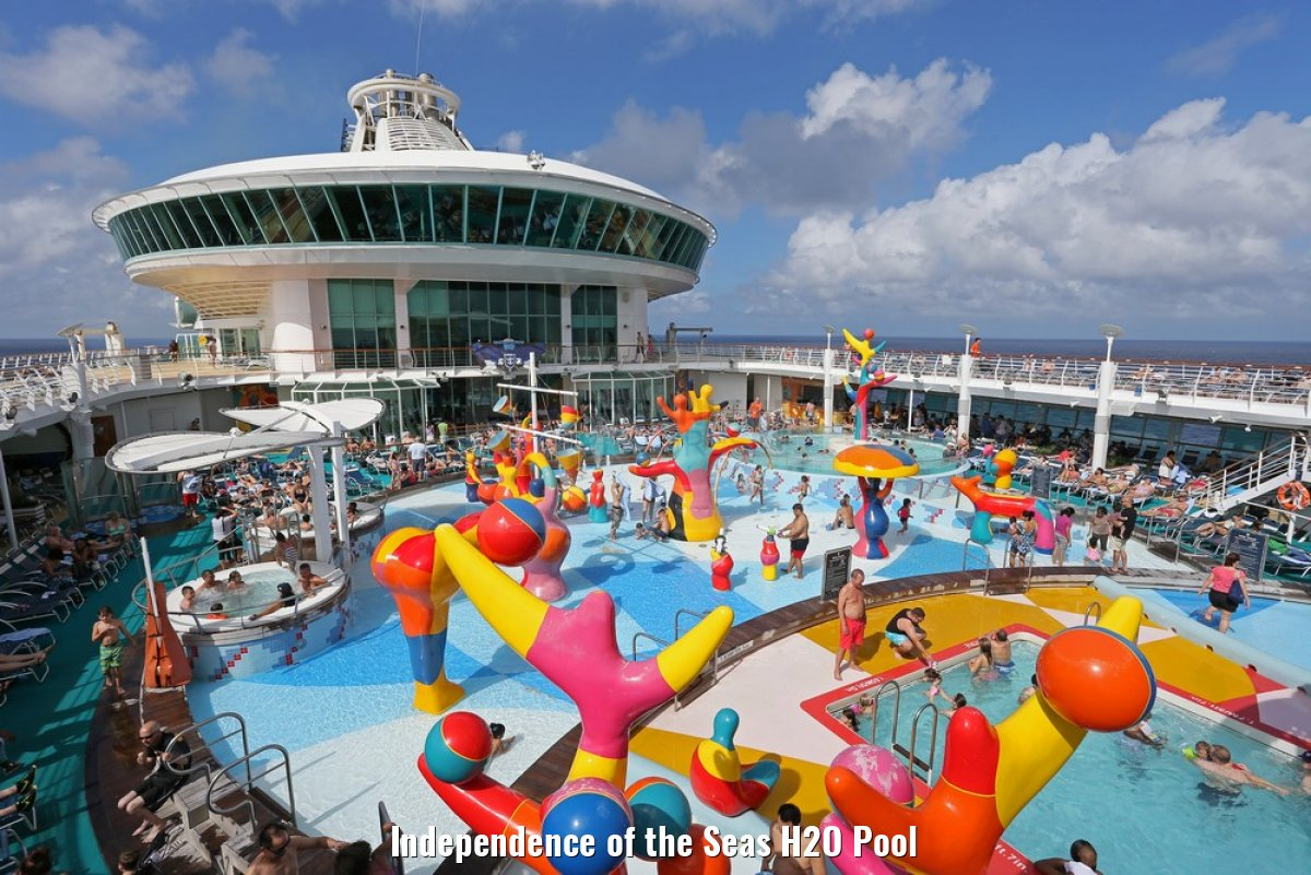 Independence of the Seas H2O Pool