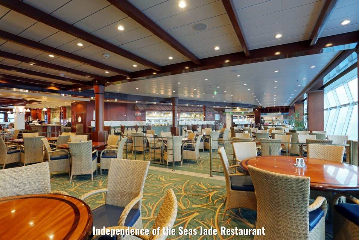 Independence of the Seas Jade Restaurant