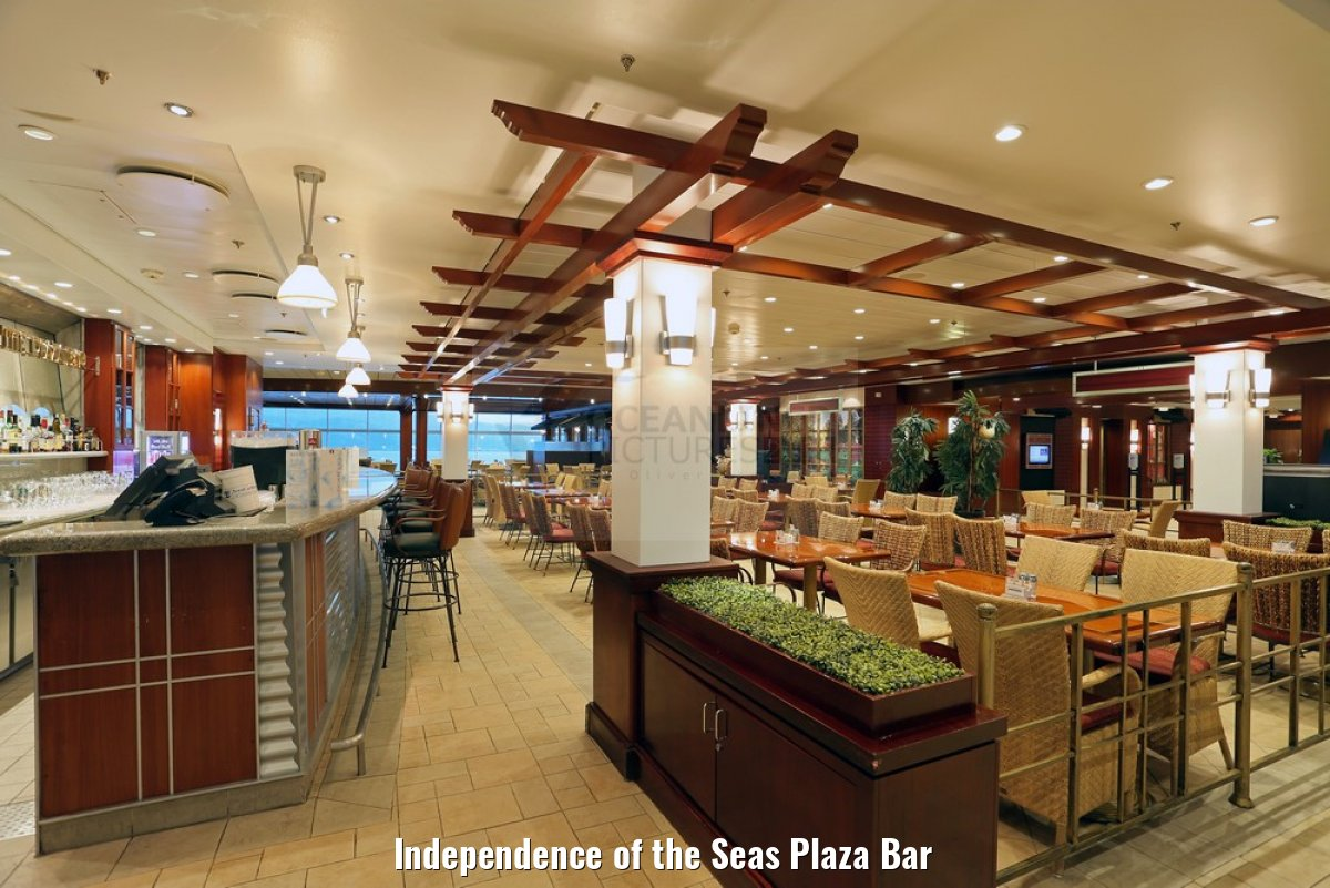 Independence of the Seas Plaza Bar