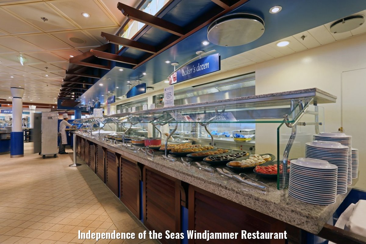 Independence of the Seas Windjammer Restaurant
