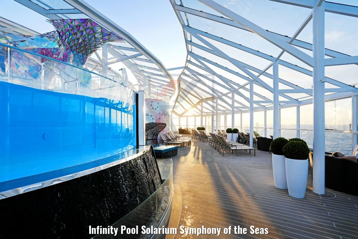 Infinity Pool Solarium Symphony of the Seas