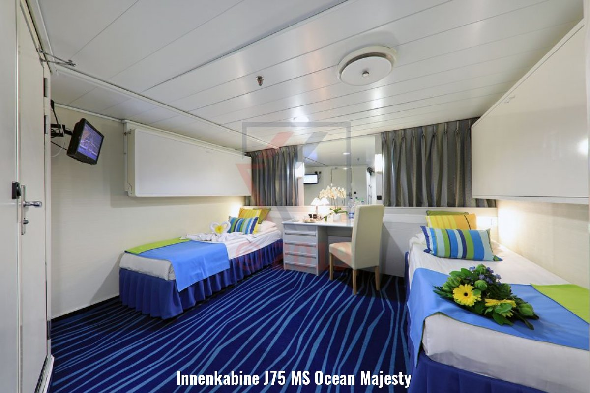 Innenkabine J75 MS Ocean Majesty
