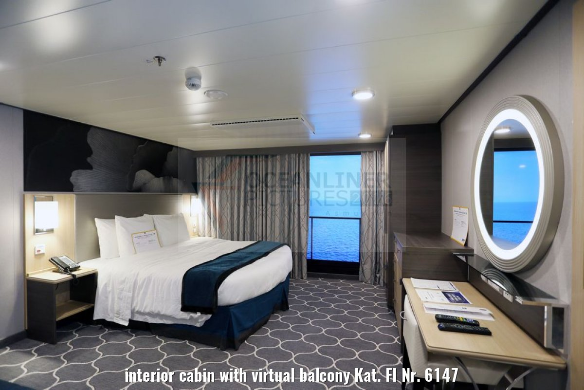 interior cabin with virtual balcony Kat. FI Nr. 6147