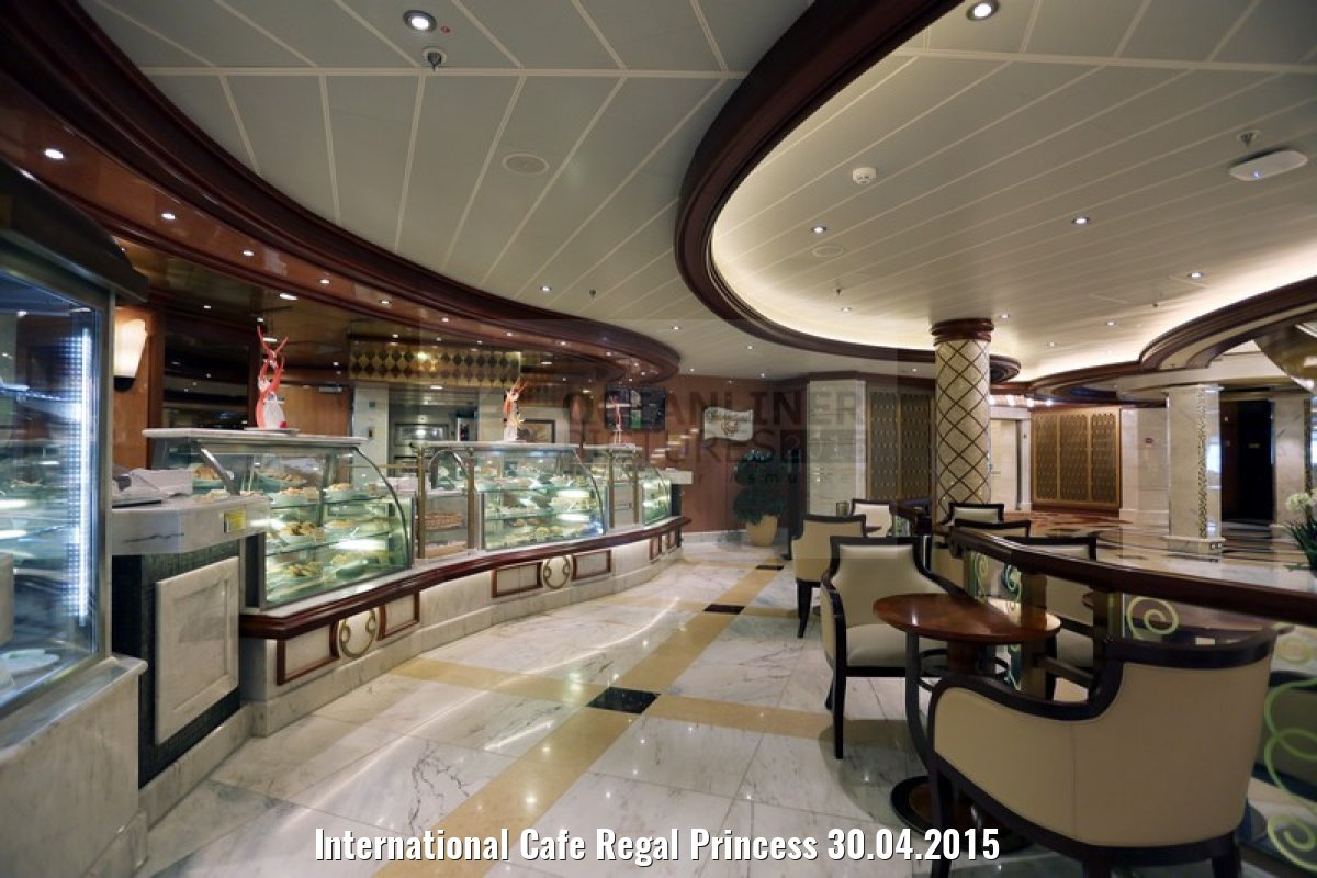 International Cafe Regal Princess 30.04.2015
