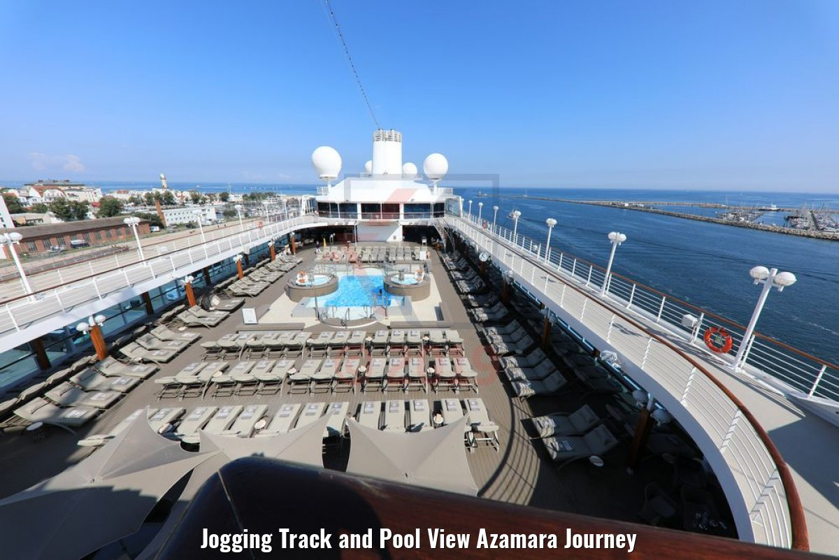 Jogging Track and Pool View Azamara Journey