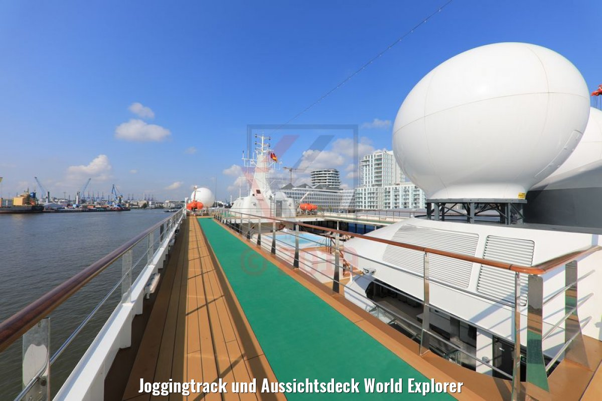 Joggingtrack und Aussichtsdeck World Explorer
