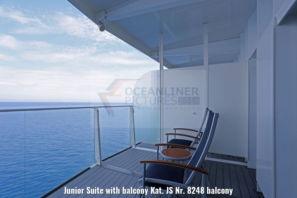 Junior Suite with balcony Kat. JS Nr. 8248 balcony
