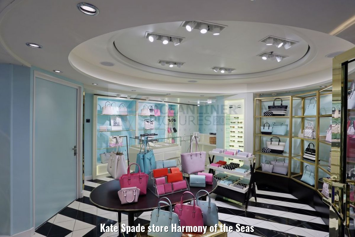 Kate Spade store Harmony of the Seas