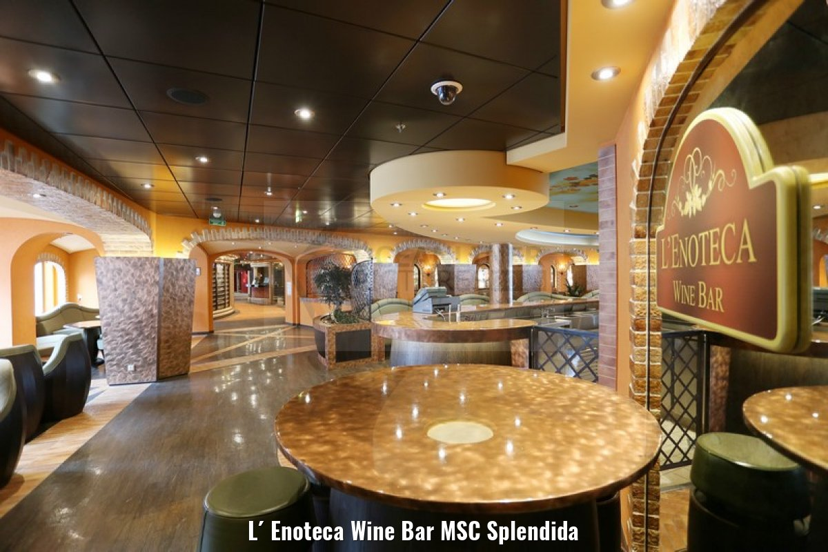 L´ Enoteca Wine Bar MSC Splendida