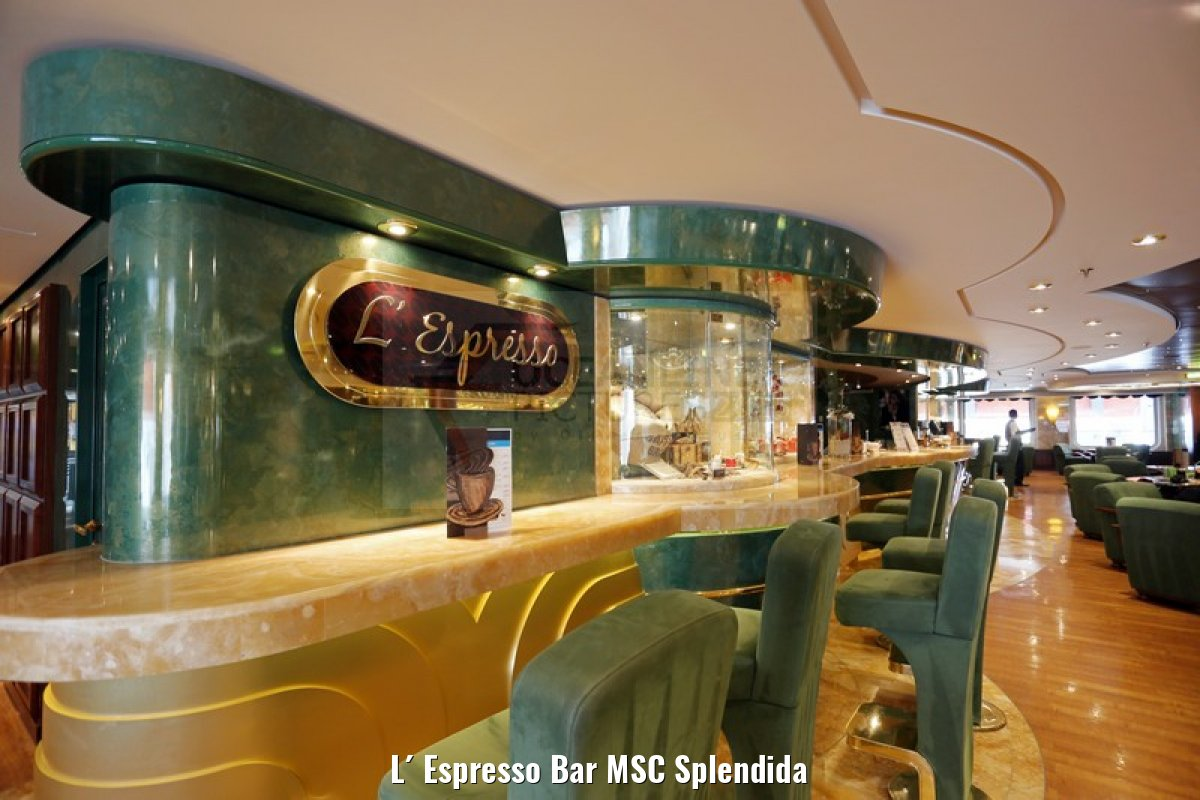 L´ Espresso Bar MSC Splendida