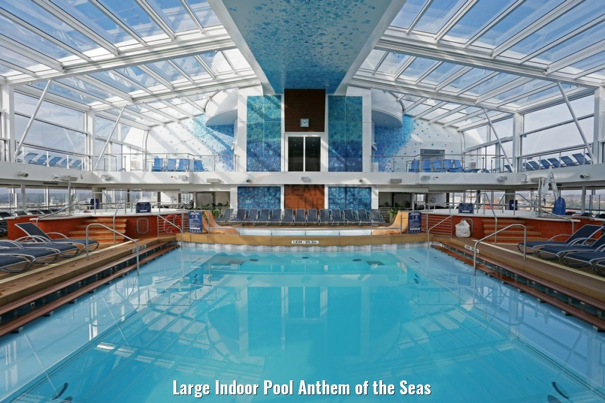 Large Indoor Pool Anthem of the Seas