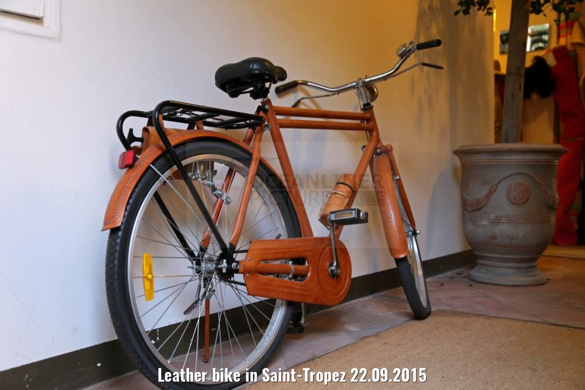 Leather bike in Saint-Tropez 22.09.2015