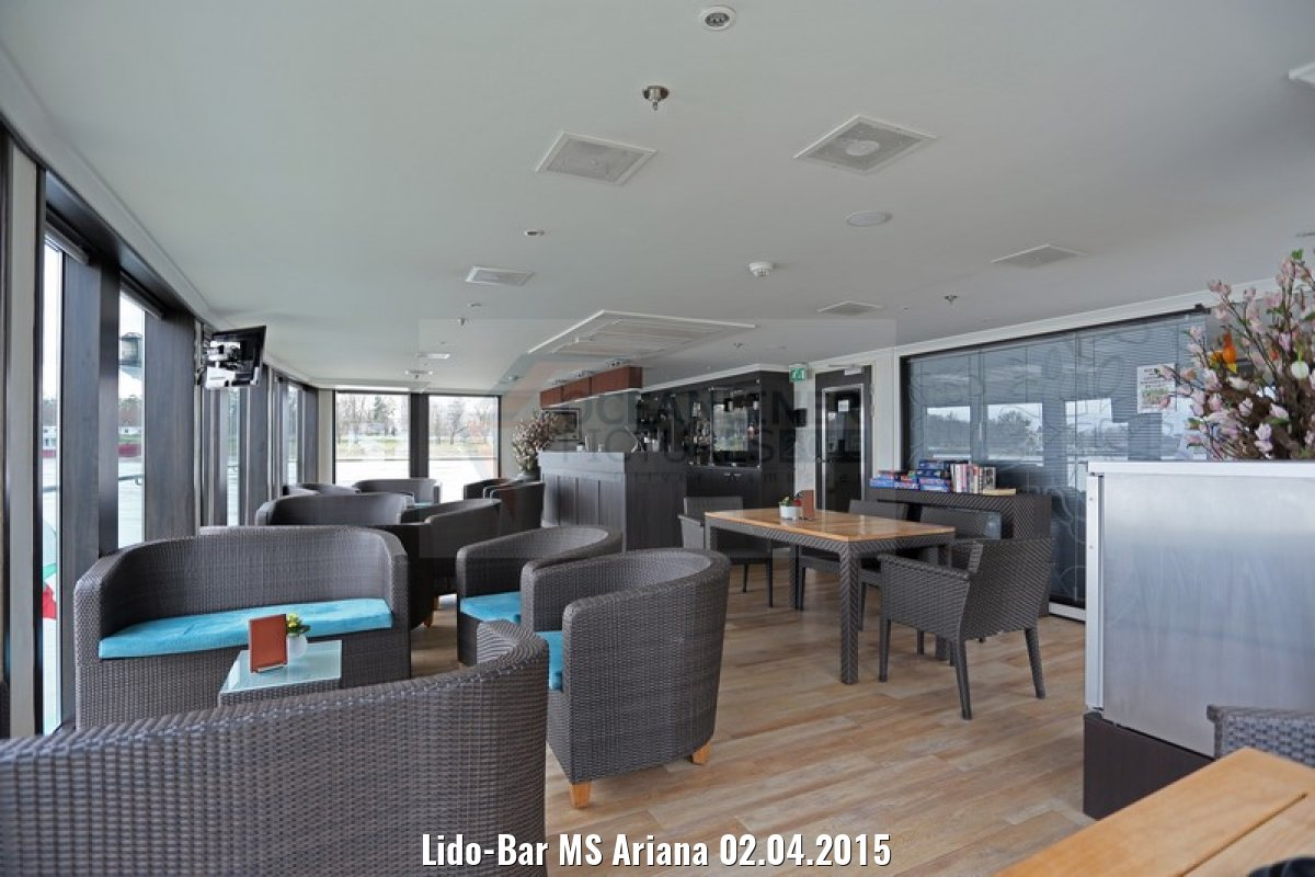 Lido-Bar MS Ariana 02.04.2015