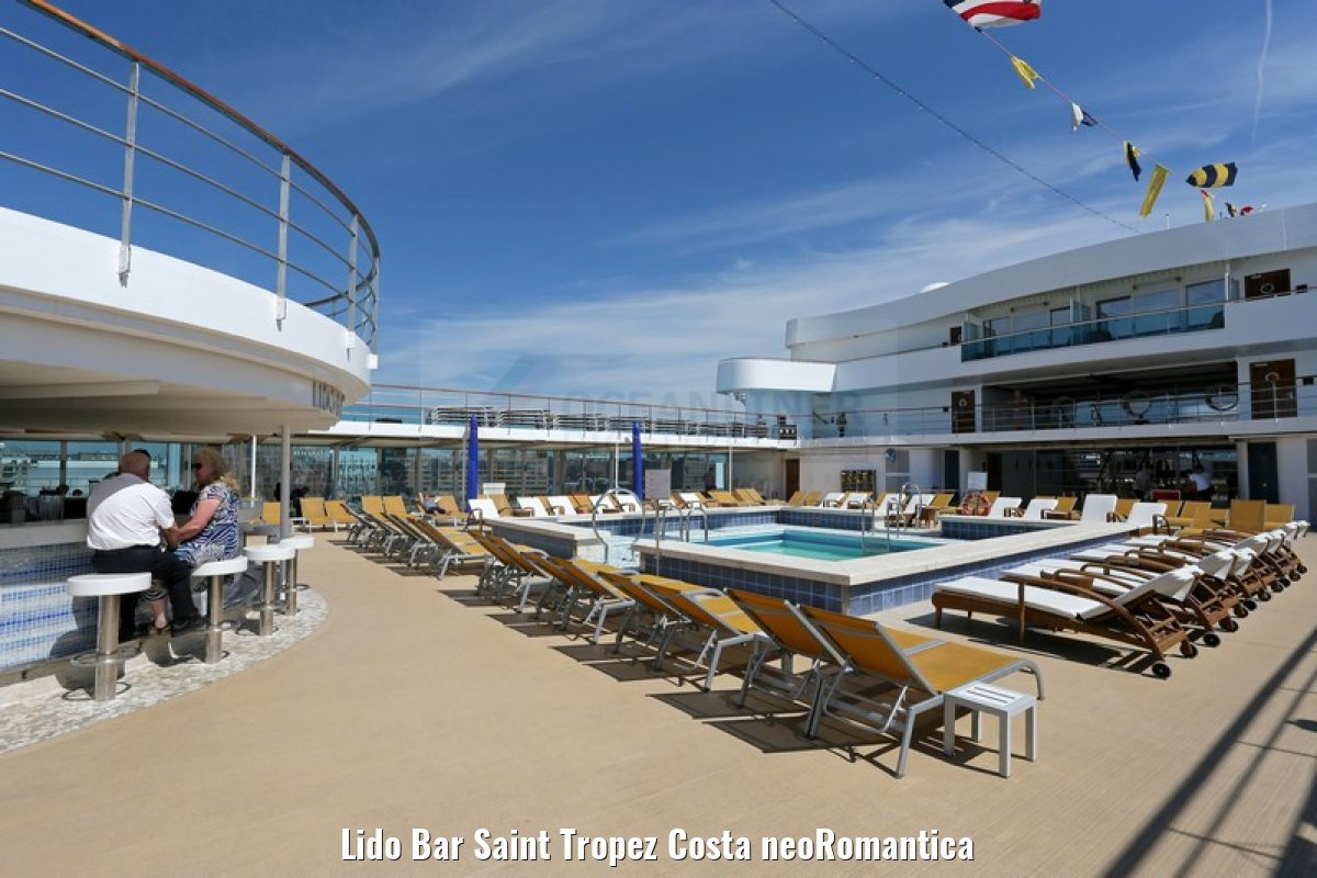 Lido Bar Saint Tropez Costa neoRomantica